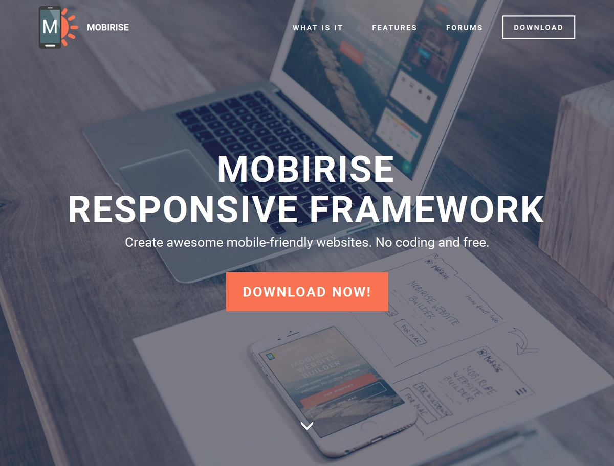 HTML5 Responsive Site Template