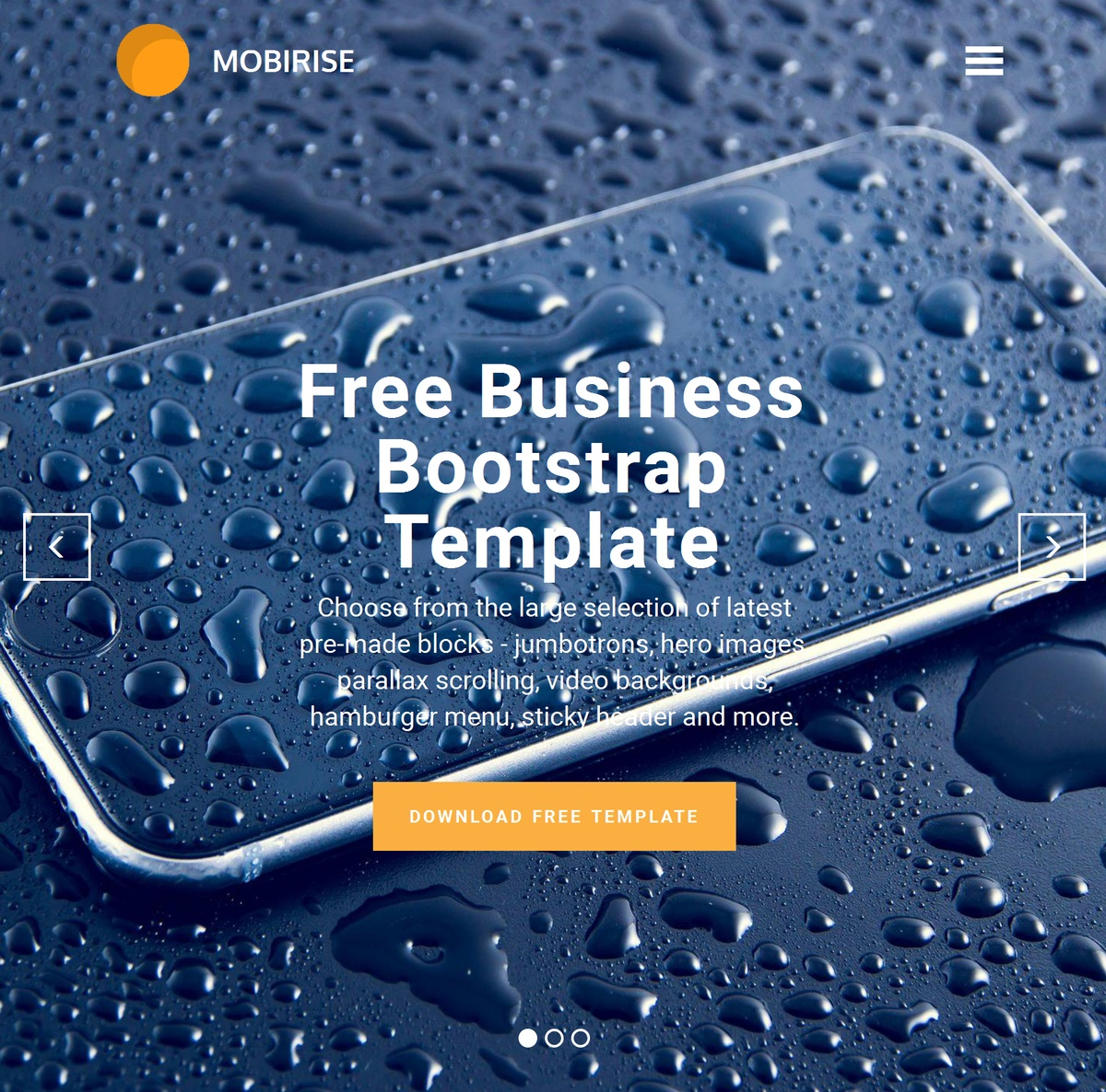 Mobile Responsive Web Templates Themes Extensions
