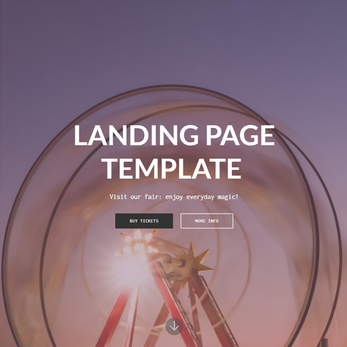 HTML5 Bootstrap Landing Themes
