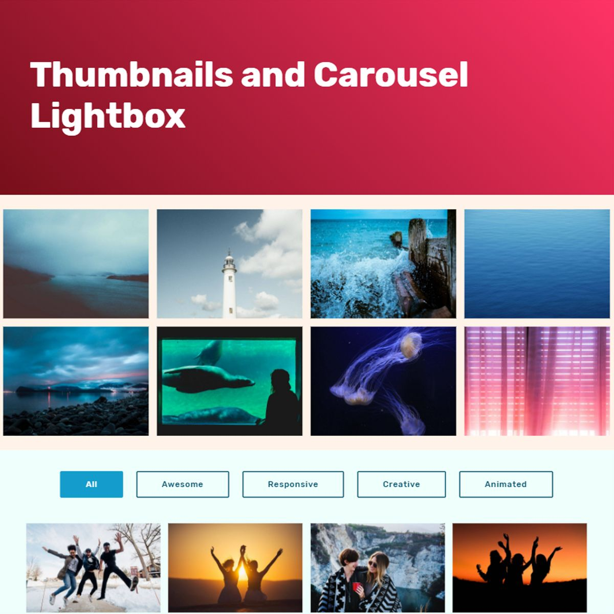 CSS Bootstrap Photo Slideshow